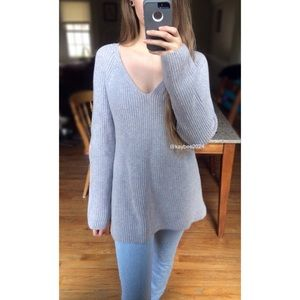 🌿 Lou & Grey Soft Lavender Cozy Knit Sweater 🌿